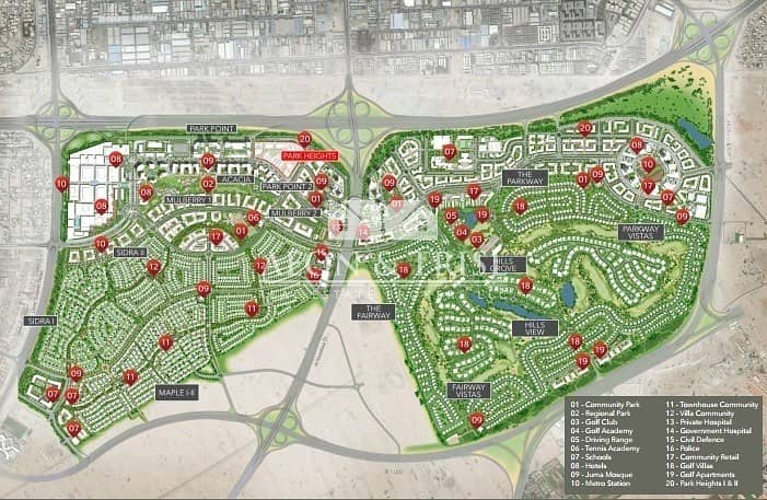 13 Deluxe Apartment  Dubai Hills  Golf View