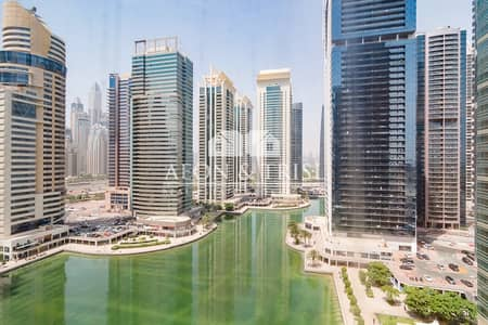 Office for Sale in Jumeirah Lake Towers (JLT), Dubai - Fitted Office with Lake View Tiffany JLT