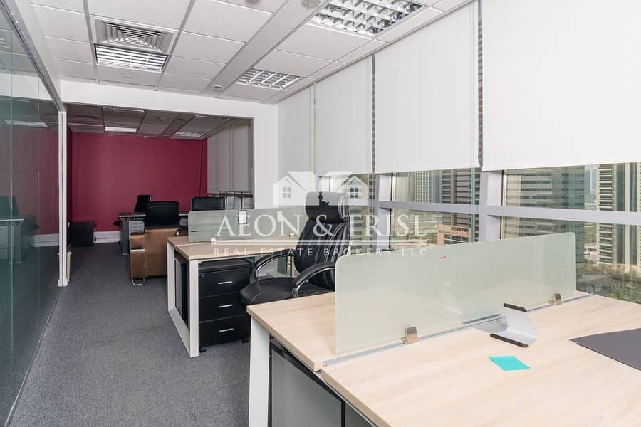 2 Fitted Office with Lake View Tiffany JLT