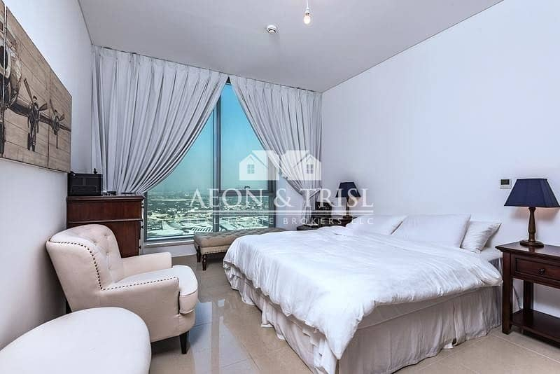 Well Maintained   2 Bed Penthouse   Water View