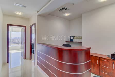 Office for Sale in Business Bay, Dubai - Cozy and Bright Office | Canal View | High Floor