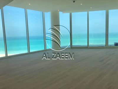 3 Bedroom Apartment for Sale in Saadiyat Island, Abu Dhabi - Breathtaking and full Sea View in an exquisite 3+M