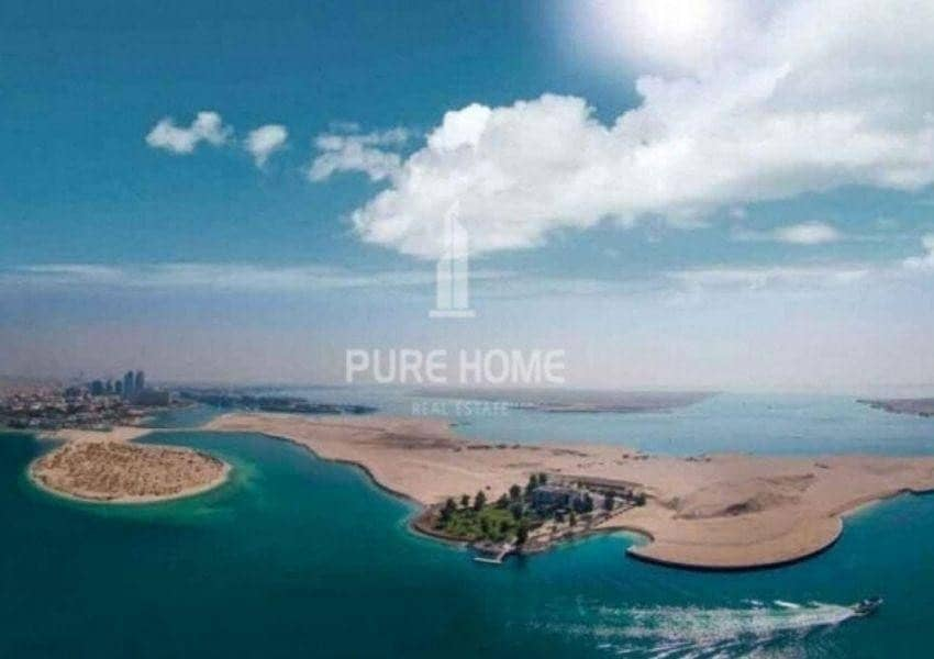 For Emirati Only  Own Now a Vip Residential Plot in Al Bateen Facing the Sea