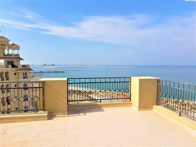 3 Bedroom Apartment for Sale in Al Hamra Village, Ras Al Khaimah - Vacant FULL SEA VIEW 3 BDR Apartment  Royal Breeze