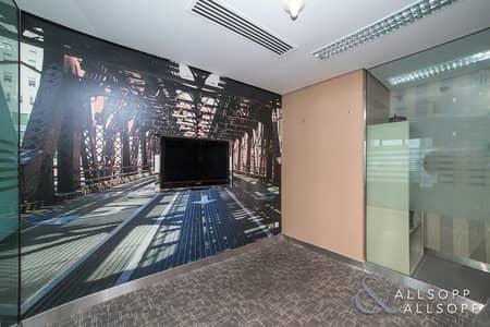 مکتب  للايجار في أبراج بحيرات الجميرا، دبي - Furnished | High Floor | Close To Metro