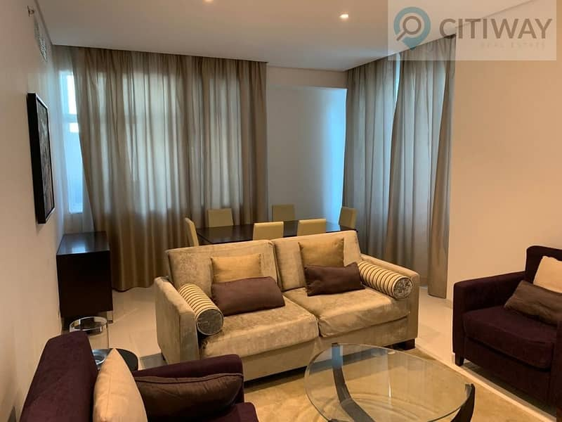 2 Spacious 3BR + Maid's Room | Furnished