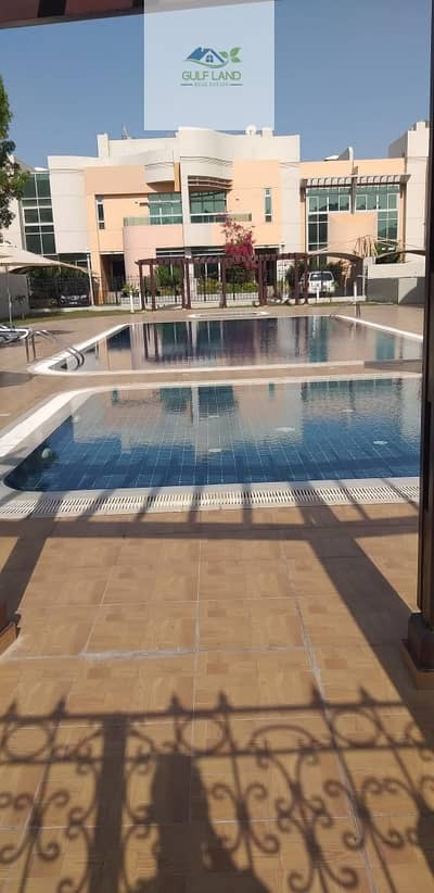 فیلا 5 غرفة نوم للايجار في المرور، أبوظبي - First tenant 5 master bedrooms villa for rent with swimming pool gym car parking