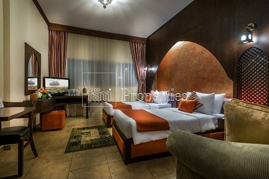 Furnished & Managed Hotel Apartment  |  Near Metro