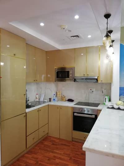 1 Bedroom Flat for Sale in Al Hamra Village, Ras Al Khaimah - HOT DEAL Luxury loft studio  for sale full sea view, semi furnished