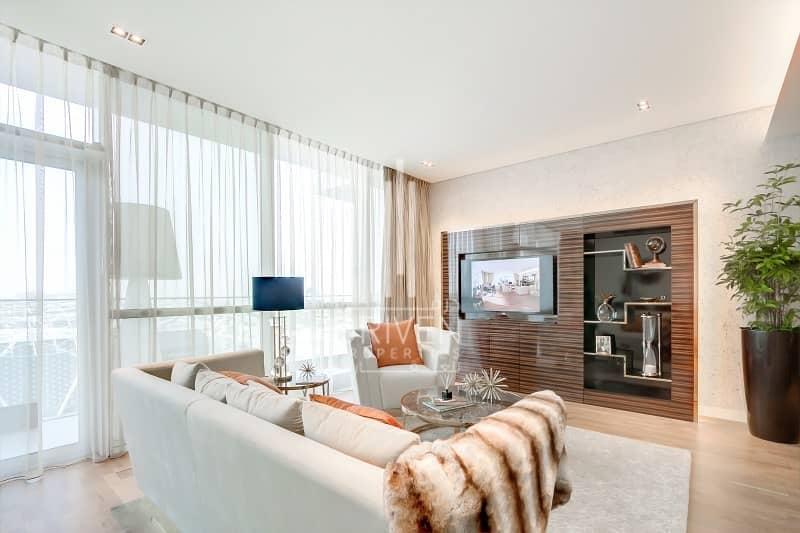 11 Furnished 1 Bed Apt w/ Burj Khalifa View