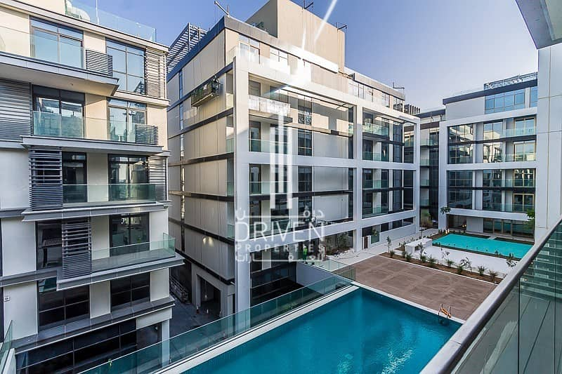 Pool Views | Perfect Layout in City Walk
