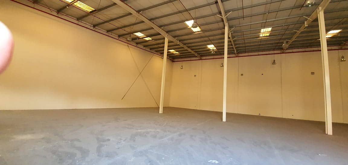 42,000 square feet Warehouse with 300 KW electricity connected available in Al Jurf area, Ajman