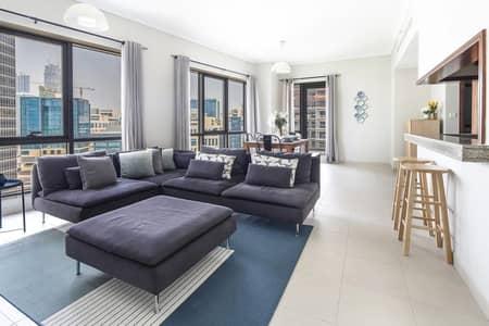 1 Bedroom Apartment for Rent in Downtown Dubai, Dubai - Luxury Apartment with Burj Khalifa View