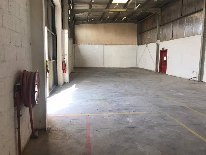 Vacant Warehouse Now Available in Al Quoz