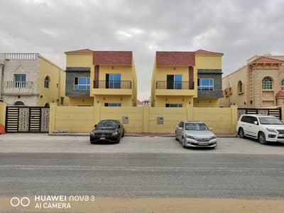 5 Bedroom Villa for Sale in Al Rawda, Ajman - For sale Villa with personal finishes on the main street directly and at a reasonable price