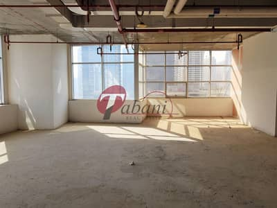 Floor for Rent in Jumeirah Lake Towers (JLT), Dubai - Shell and core  Full Floor available for rent