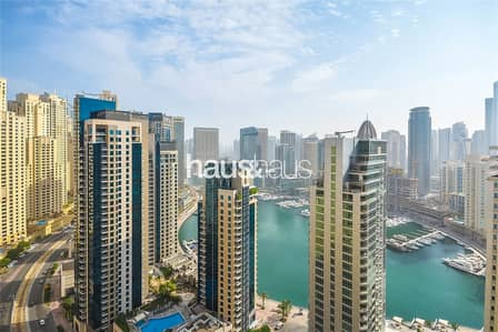2 Bedroom Apartment for Rent in Jumeirah Beach Residence (JBR), Dubai - Marina Facing Apartment | Amwaj 4 | Available Now