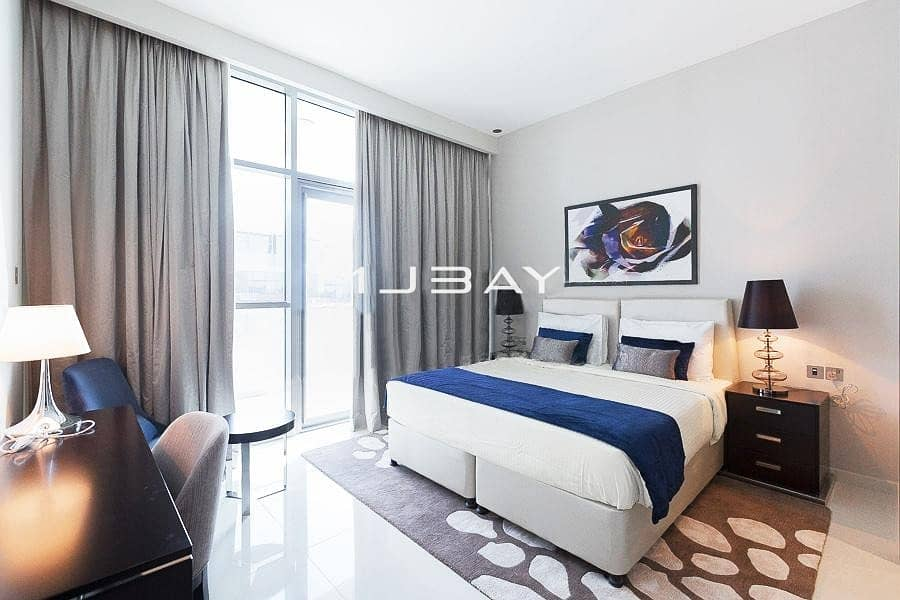 Fully Furnished 1 BR | Golf View