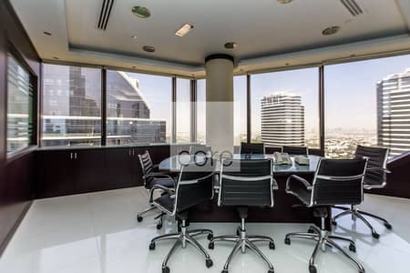 Office for Sale in Jumeirah Lake Towers (JLT), Dubai - Fitted Office | High Floor | Prime Location