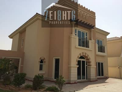 Beautifully presented: 5 b/r independent villa + maids room + landscaped garden for rent in Victory Heights