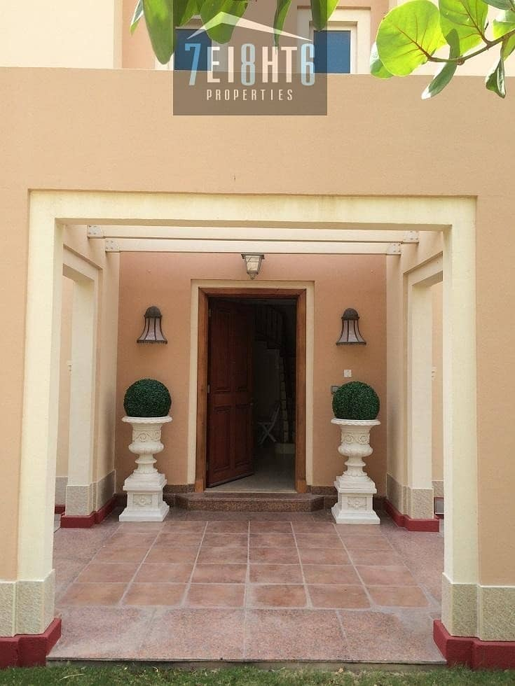 2 Beautifully presented: 5 b/r independent villa + maids room + landscaped garden for rent in Victory Heights