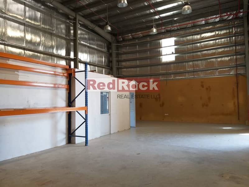 2 Shop Cum Warehouse of 1700 Sqft Warehouse Excellent Location in Ras Al Khor