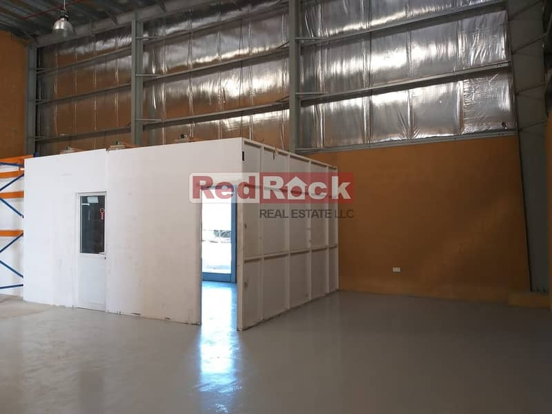 15 Shop Cum Warehouse of 1700 Sqft Warehouse Excellent Location in Ras Al Khor