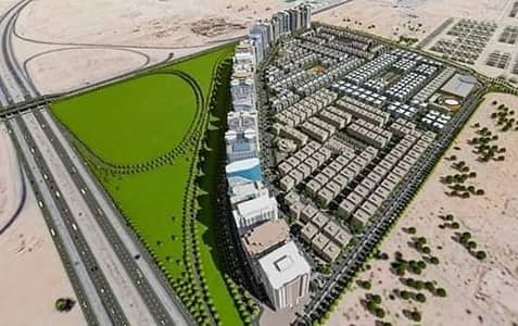 Plot for Sale in Al Aaliah, Ajman - Residential land in distinct locations and different areas - freehold