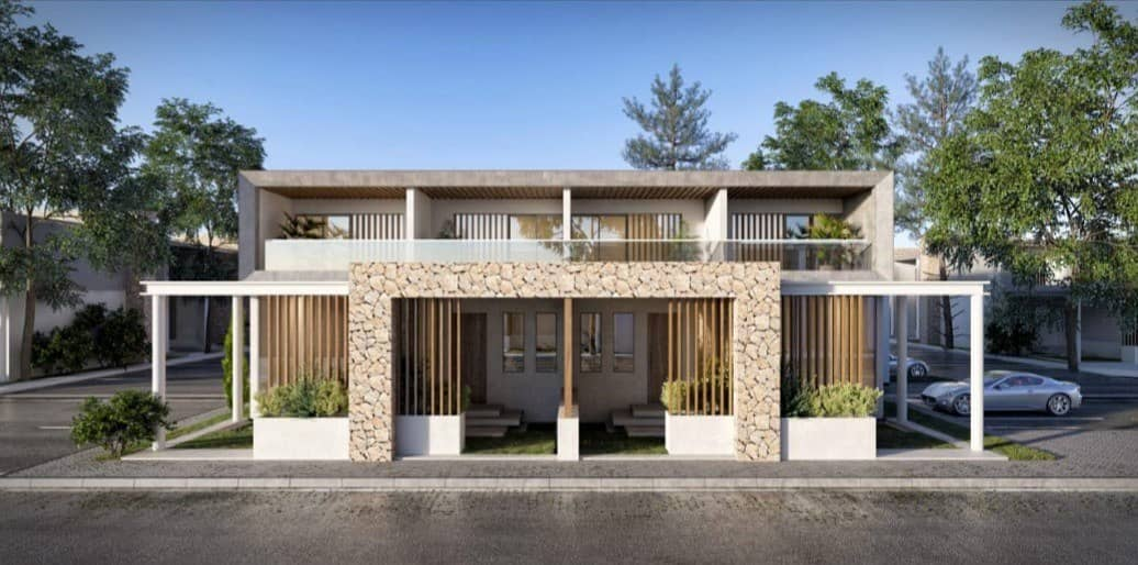 Town house in a residential complex in Wadi Safa next to the villas Emaar Arabian Ranches and Serena