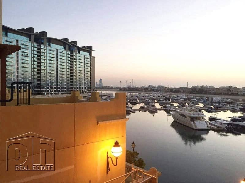 Ground Level | Pool and Marina View | Extended Terrace