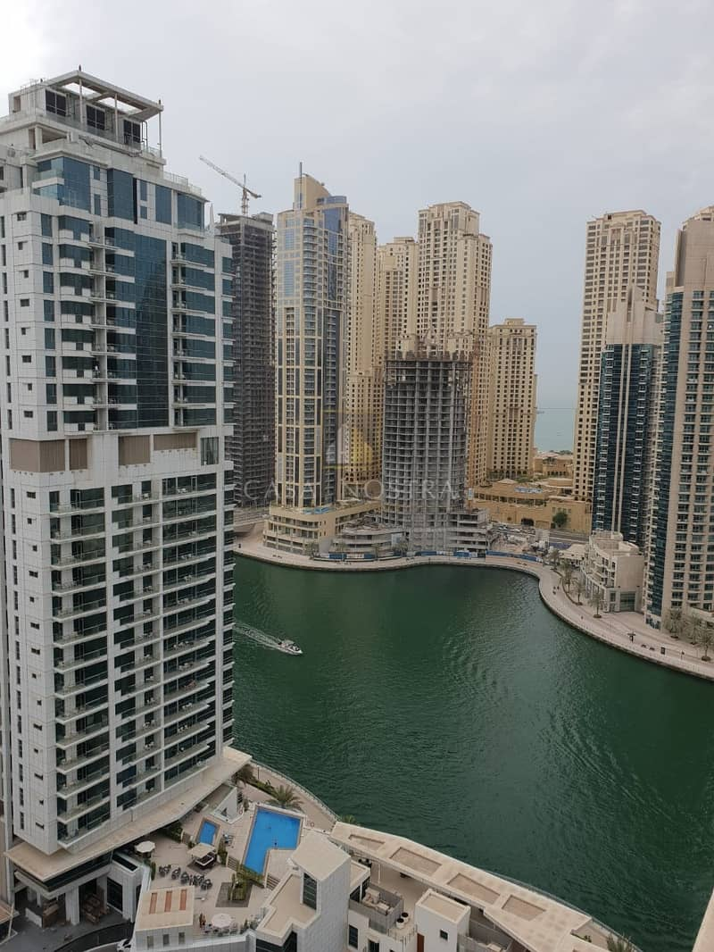 Hot Deal 9% ROI 1 Bedroom with Partial Sea and Marina View.
