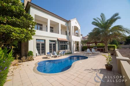 5 Bedroom Villa for Sale in Jumeirah Golf Estate, Dubai - New Listing | Oakmont | Earth Course View