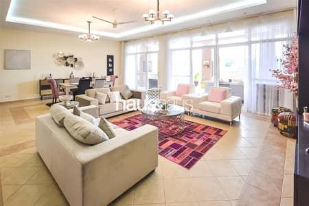 شقة 3 غرفة نوم للايجار في موتور سيتي، دبي - Exquisite lake view| Excellent condition