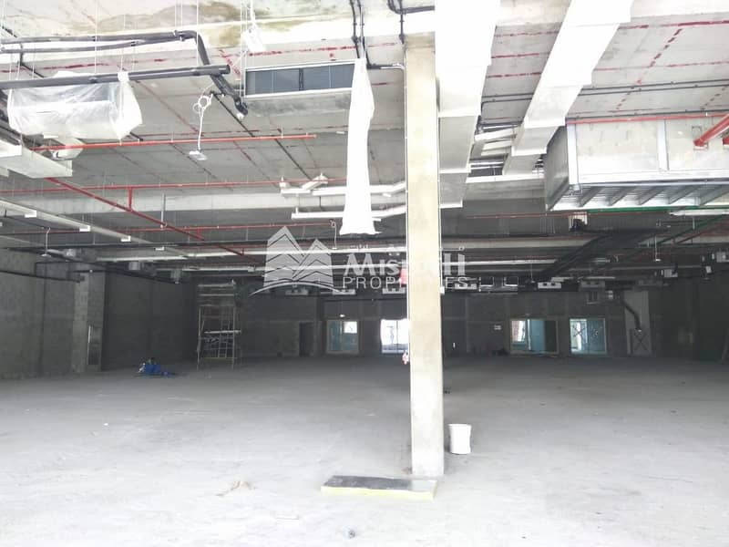 15 Special Offer..!!! 16000 sqft showroom Shell and Core unit  Suitable for CAR Showroom/ any commercial use