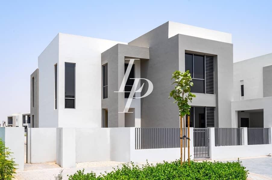 Stunning Type 5|Single Row Villa on Pool and Park