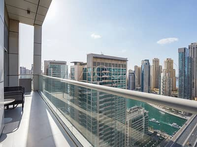 2 Bedroom Flat for Sale in Dubai Marina, Dubai - Fully Furnished 2 Bedroom with Full Marina View