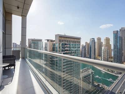 فلیٹ 2 غرفة نوم للبيع في دبي مارينا، دبي - Fully Furnished 2 Bedroom with Full Marina View
