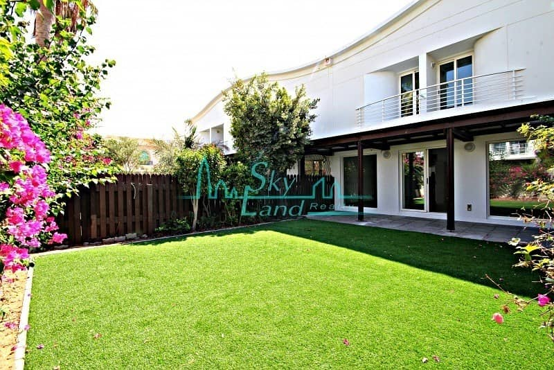 2 RENOVATED 3BED WITH AMAZING  GARDEN IN JUMEIRAH 2