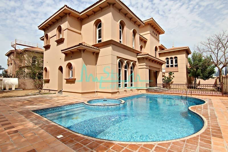 AMAZING 6 BED PRIVATE POOL AND GARDEN  JUMEIRAH 3