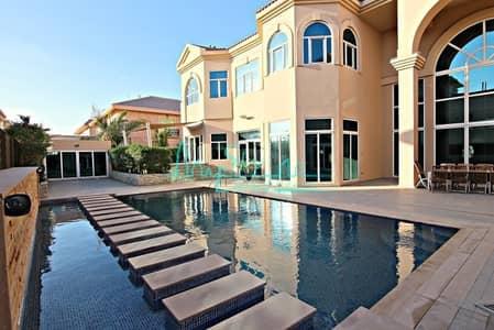 6 Bedroom Villa for Rent in Umm Suqeim, Dubai - MAGNIFICENT 6 BEDROOM VILLA WITH PRIVATE POOL