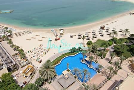 بنتهاوس 4 غرف نوم للايجار في نخلة جميرا، دبي - 1 MONTH FREE |CHILLER FREE| 4 BED+M DUPLEX PENTHOUSE IN SHORELINE 10
