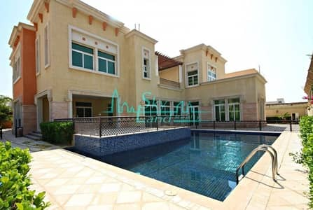 فیلا 6 غرف نوم للايجار في البرشاء، دبي - LUXURIOUS 6BR+MAIDS VILLA WITH PRIVATE POOL AND GARDEN IN  AL BARSHA