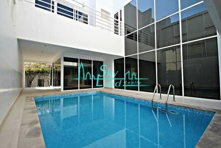 5 Bedroom Villa for Rent in Jumeirah, Dubai - CONTEMPORARY 5 BED PRIVATE POOL  GARDEN JUMEIRAH 1
