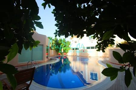 5 Bedroom Villa for Rent in Jumeirah, Dubai - SUPERB 5 BED+2 MAID'S SHARED POOL GYM JUMEIRAH 3 !