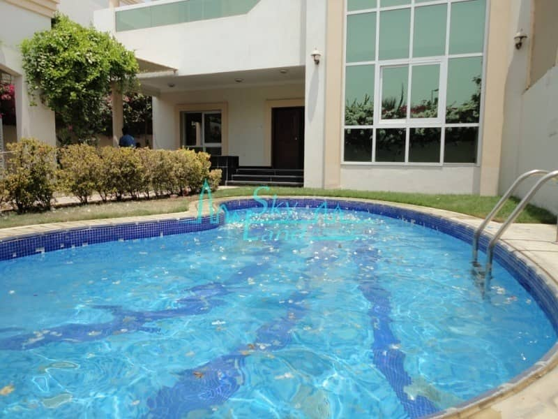 BEAUTIFUL 4 BED  WITH GARDEN AND POOL IN JUMEIRAH 3