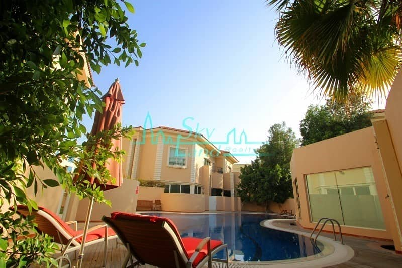 24 SUPERB 5 BED+2 MAID'S SHARED POOL GYM JUMEIRAH 3 !