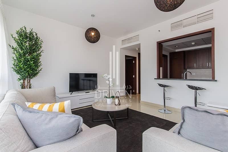 10 Rented Unit | Furnished  2BR +Study Room