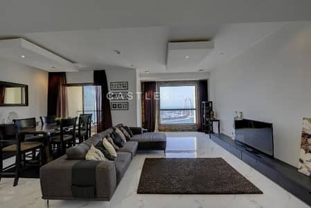 2 Bedroom Apartment for Rent in Jumeirah Beach Residence (JBR), Dubai - UNIQUE- Beautiful Sea View 2 Bedroom Flat for rent