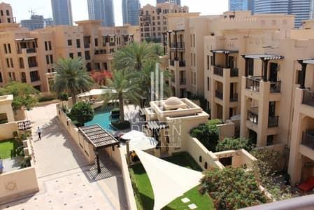 شقة 2 غرفة نوم للبيع في المدينة القديمة، دبي - Vacant | Top Floor | Bright | Pool View