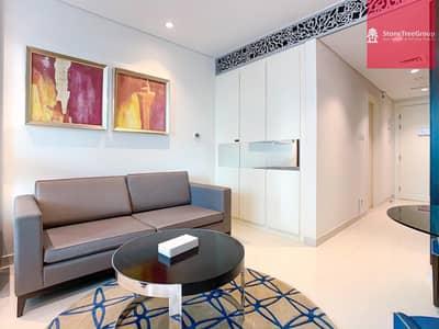Studio for Rent in Downtown Dubai, Dubai - Newly Acquired service apartment | Burj Khalifa View